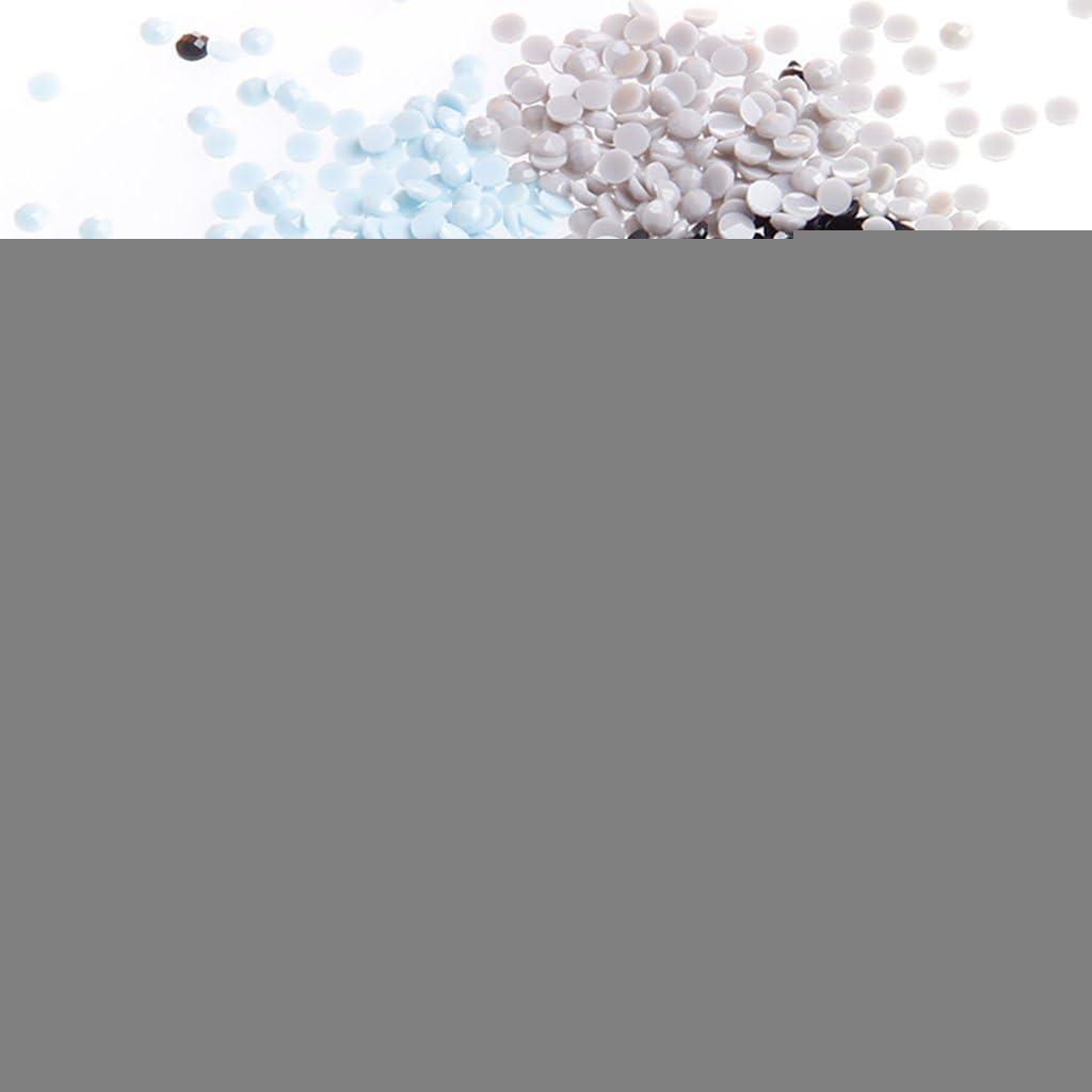 KOFUN 5D DIY Diamant Peinture 5D Bricolage Peinture Peinture par Num/éros Diamants Broderie Peinture Point De Croix Kit Bricolage D/écor /À La Maison Chat de biblioth/èque 40x30 cm
