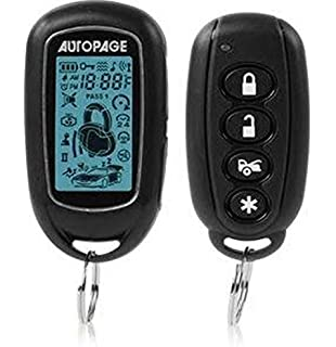 Amazon autopage xt74lcd replacement transmitter for c3rs730 autopage rf427p security and keyless entry black fandeluxe Gallery