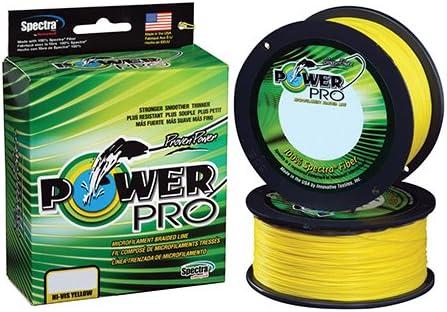 SHIMANO Power Pro 50 lb X300 Yd Spool Hivis Yellow Braided line