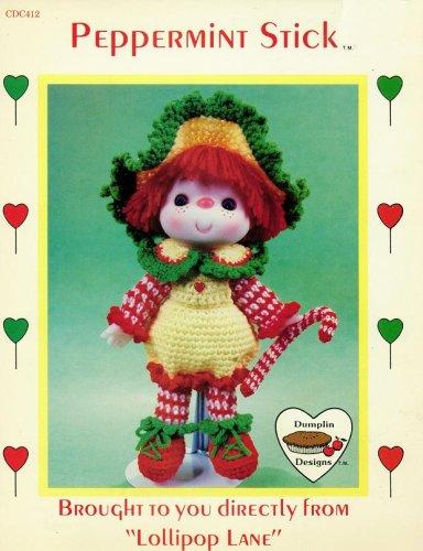 (Peppermint Stick - Lollipop Lane - Crochet Doll Body & Outfit (Dumplin Designs - #CDC412))