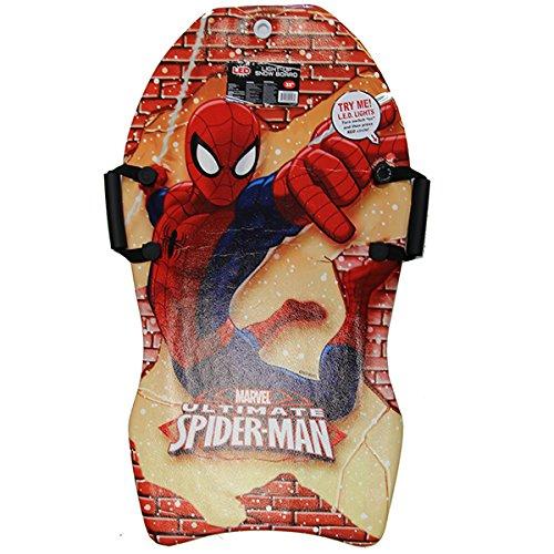Marvel Spiderman Lightup LED SnowBoard for Kids