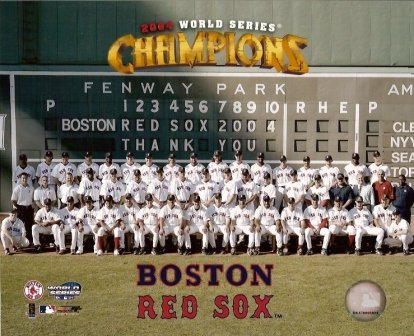 c0f86683deb Image Unavailable. Image not available for. Color  Boston Red Sox 2004 ...