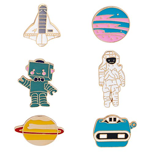 ZJ ZHIJIA JEWELRY Cute Cartoon Animal Brooch Pins Enamel Brooches Lapel Pins Badge for Women Girls Children for Clothing Bag Decor (style5) ()