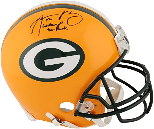 Aaron Rodgers Green Bay Packers Autographed Riddell Pro-Line Helmet with