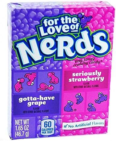 Wonka Nerds Strawberry - Grape candy (46,7g): Amazon.es: Alimentación y bebidas