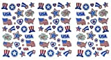 Darice 32 Piece Patriotic Holographic Stickers - 3 - Best Reviews Guide
