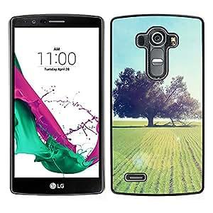 "For LG G4 , S-type Naturaleza Hermosa Forrest Verde 93"" - Arte & diseño plástico duro Fundas Cover Cubre Hard Case Cover"