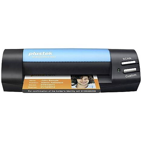 Plustek Mobileoffice S602 Visitenkarten Scanner 1200 X