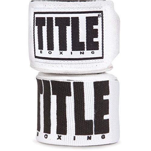 TITLE Power-Flex Elite Fist Wraps, White