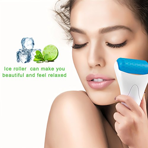 Ice Roller for Face, Eye Puffiness, Wrinkles, Migraine, Headache, Redness,Minimize Pores (Two rollers) by FIBI (Image #5)