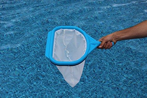 Pool Netr LNB-001SW Netr Leaf Net, Pool Blue