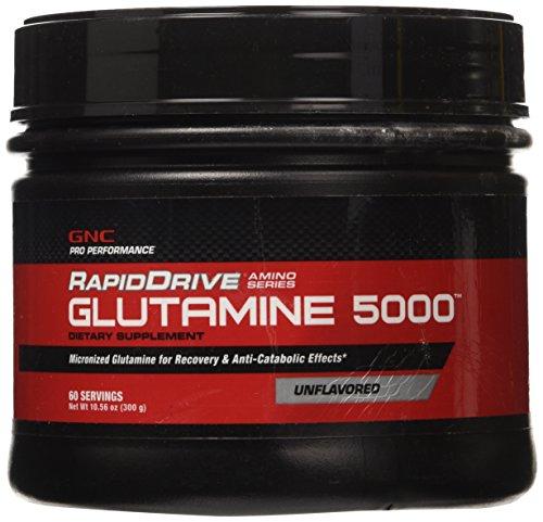 GNC Pro Performance RapidDrive Glutamine 5000, nature, 60 portions
