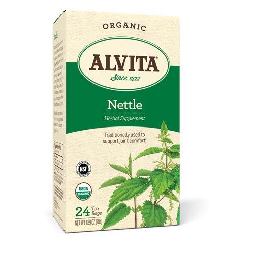 Alvita Teas Organic Herbal Tea Bags - Nettle Leaf - 24 (Alvita Teas Nettle Leaf Tea)