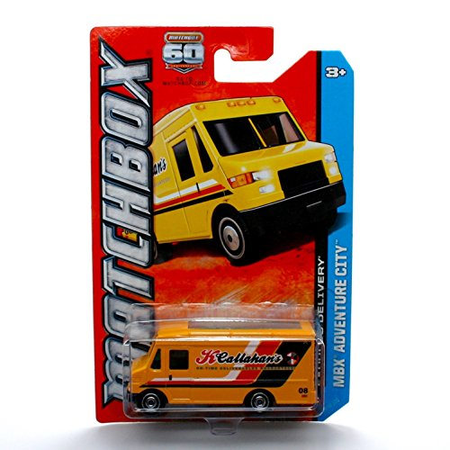Matchbox Express DELIVERY (Yellow) MBX Adventure City 60th Anniversary 2013 Basic Die-Cast Vehicle (#28 of 120)