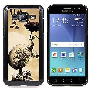 "Planetar ( Arte rojo del pájaro Rama Fairytale"" ) Samsung Galaxy J2 / J200 Fundas Cover Cubre Hard Case Cover"