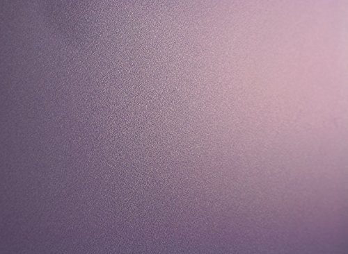 Purple Frosted, Decorative, Privacy, Static Cling Window Film (35''x 25ft)