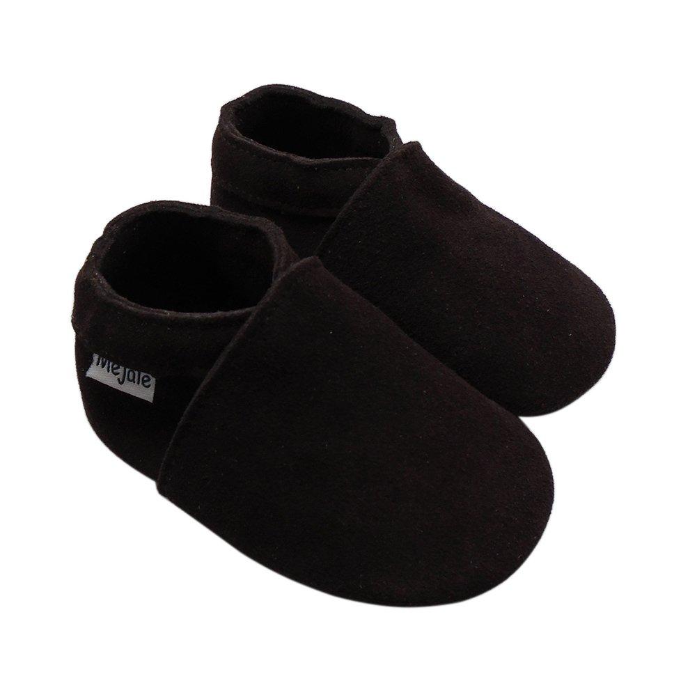 Mejale Baby Infant Toddler Shoes Anti-Slip Soft Soled Leather Moccasin Pre-Walker