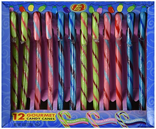 Jelly Belly Candy Canes, 12-count Boxes (2 Pack) ()
