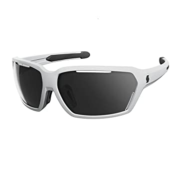 Scott Vector bicicleta gafas color blanco/negro/gris: Amazon ...