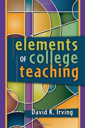 Elements of College Teaching
