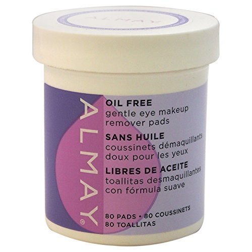Almay Oil-free Eye Makeup Remover Pads, 80 Pads