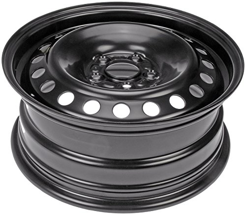Dorman Steel Wheel with Black Painted Finish (16×6.5″/5x155mm)
