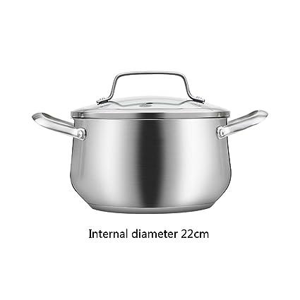 WEN-pot Cocinero de Sopa Olla de Cocina de inducción de Acero Inoxidable Gas para