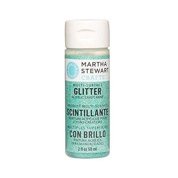 Martha Stewart Crafts 2 Oz Feldspat Glitter Paint, blau: Amazon.de ...