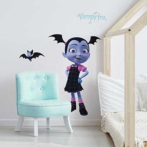 RoomMates Disney Vampirina Peel and Stick Giant Wall Decals