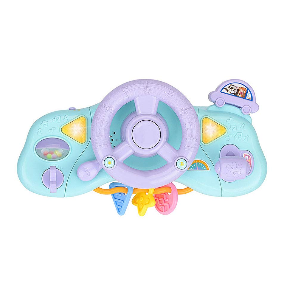 Yugust Baby Musical Simulation Steering Wheel