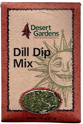 Dill Veggie Dip - Desert Gardens Dill Dip Mix (Pack of 4)
