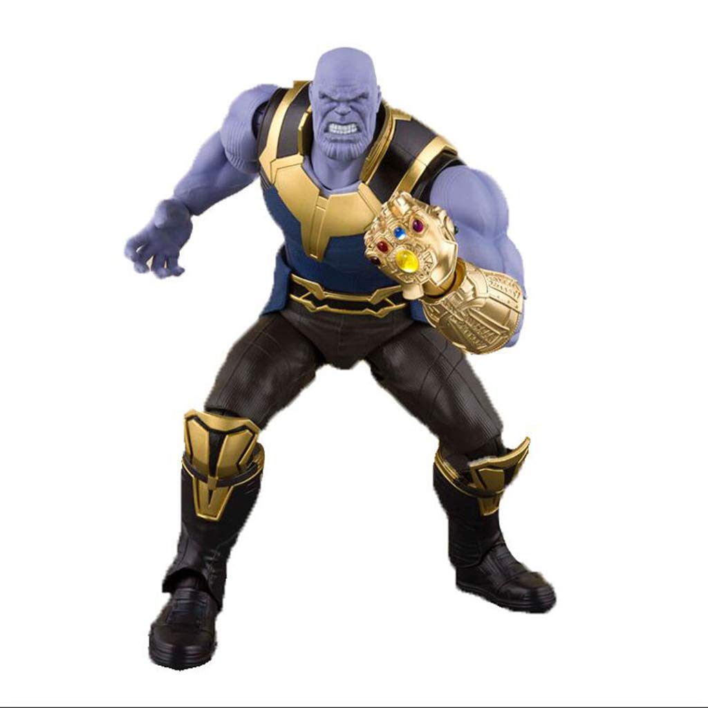 QRFDIAN SHF Marvel Détruit l'Alliance de la poupée modèle de la Main Mobile Thanos de la Guerre Ennuite Illimitée