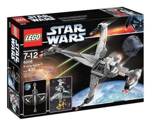 LEGO Star Wars B-Wing Fighter set 6208 (B Wing Starfighter Lego)