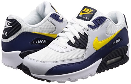 Eu Nike Trainers Max Mens 90 5 42 Blue Leather Recall Yellow Air Essential Hw7rqH