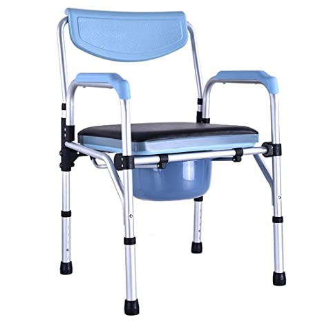 GLJMTY Ancianos Discapacitados Silla De BañO Inodoro ...