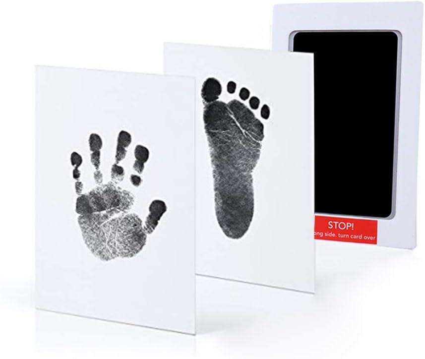 Yuccer Tinta Huellas Bebe Kit de Almohadillas de Tinta Regalos Originales Para El Recién Nacido para Niño Y Niña