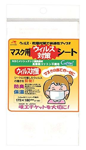 金天馬 マスク用 ウイルス対策シート KW93172 手芸・ハンドメイド用品