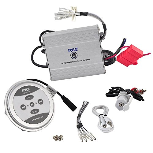 Pyle PLMRMBT5S Bluetooth 2 Channel Amplifier