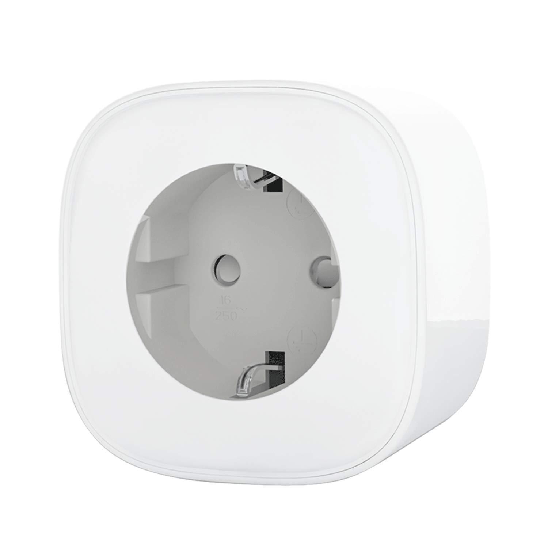 Meross Smart Steckdosenleiste Fernsteuerung Intelligente WLAN Mehrfachsteckdose mit Ü berspannungsschutz mit 3 AC-Ausgä nge und 4 USB-Anschlü sse Kompatibel mit Alexa, Google Home und IFTTT, MSS425EEU