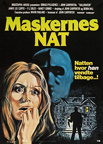 Halloween  Movie Poster European Art