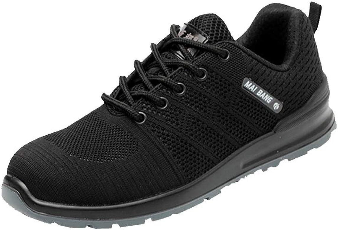 S3 SRC Antideslizante Anti-Piercing Zapatillas de Trabajo con Puntera de Acero Zapatos de Industria y Construcci/ón Zapatos de Seguridad para Unisex