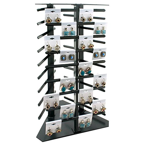 Rotating Earring Display 108 Cards by Display and Fixture Store