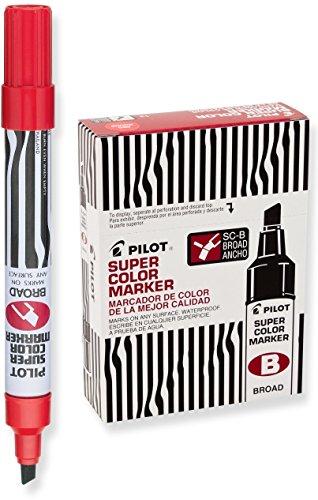 Pilot Permanent Markers Chisel 44200