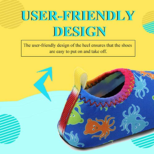 Panda Software Toddler Water Shoes Baby Boys Girls Shoes Infant Barefoot Quick-Dry Anti-Slip Aqua Sock for Kids Beach Swim Pool
