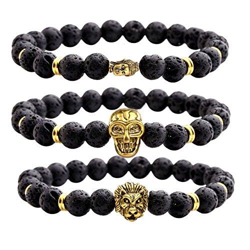 Natural Gemstones Bracelets Diffuser Bracelet