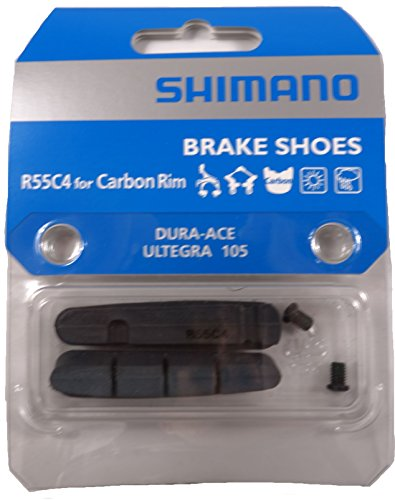 Dura Ace 7800 Wheels - Shimano R55C4-1 Road Brake Pads for Carbon Rims Pair