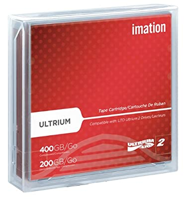 Imation IMN16598 LTO Ultrium 2 Tape Cartridge by S.P. Richards Company