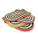 26 Colors 1040 Quilling Paper Strips, 3/ 5/ 7/ 10 mm, 4 Sets