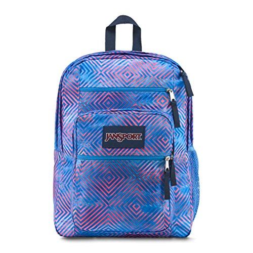 Jansport Unisex Big Student Backpack (MISC, Optical Clouds)