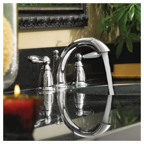 Moen T6620bn Brantford Two Handle Low Arc Bathroom Faucet Without Valve Brushed Nickel 2017